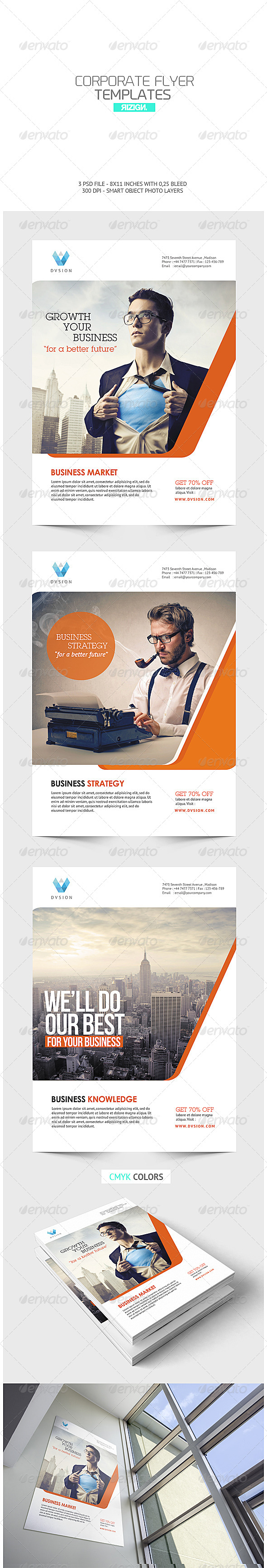 GraphicRiver Corporate Flyer 6792426