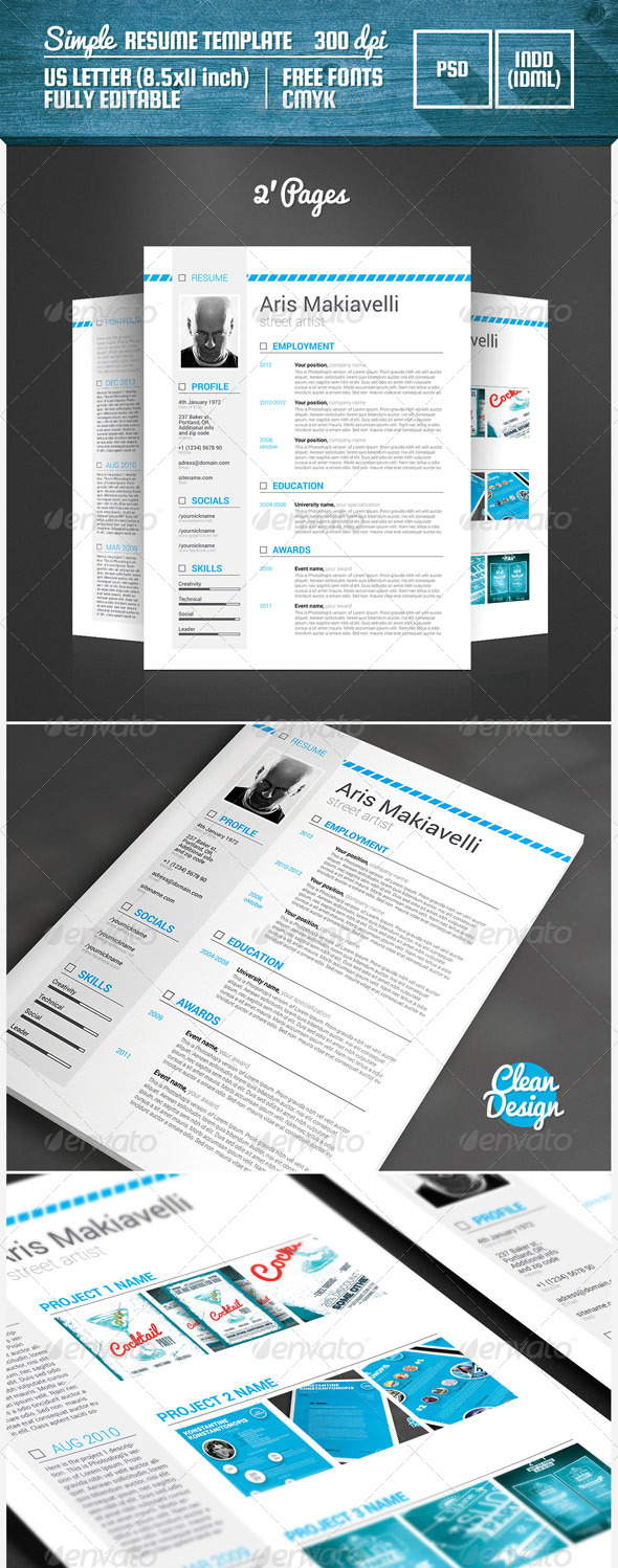 Lovely Resume Booklet 8 Pages Download Ideas - Example Resume and ...