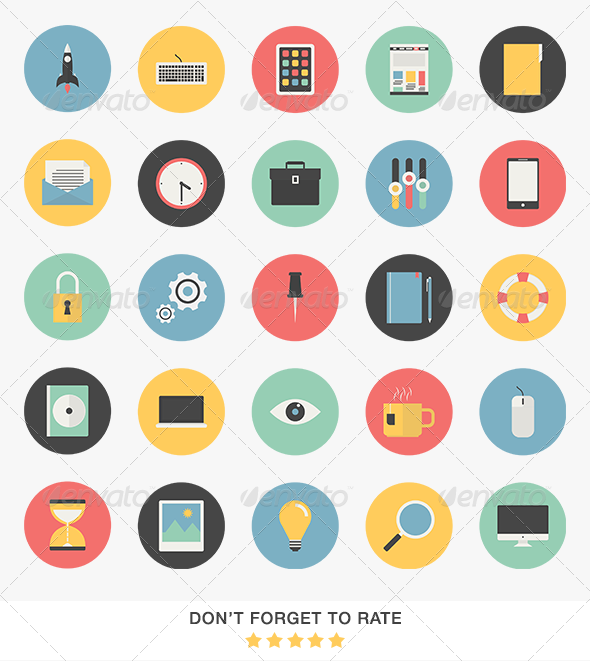 GraphicRiver Web Icons Set 6793326