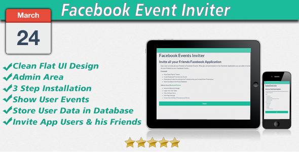 CodeCanyon Invite all Friends to Facebook Event 6794155