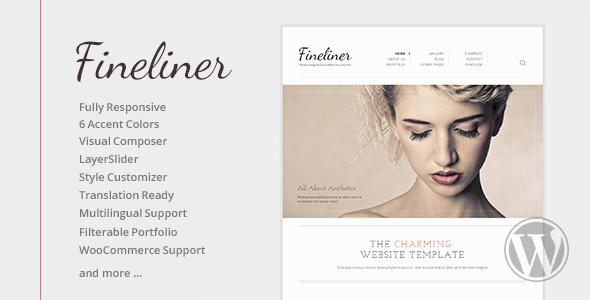 Fineliner - Responsive Portfolio WordPress Theme