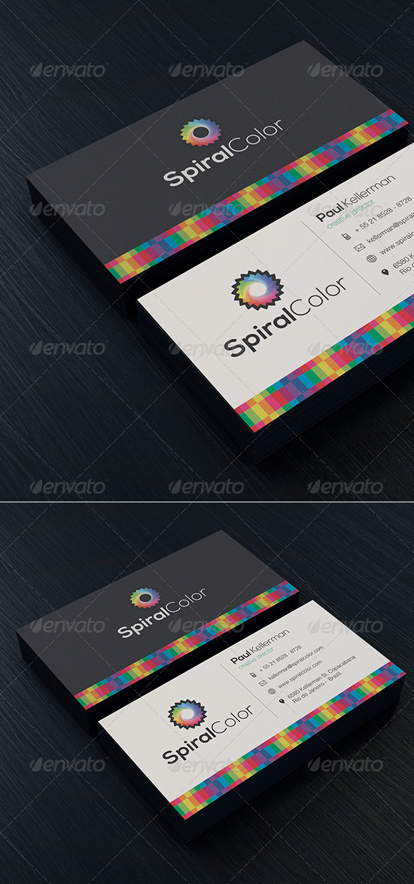 Creative Colorful Business Card - Creative Business Cards
