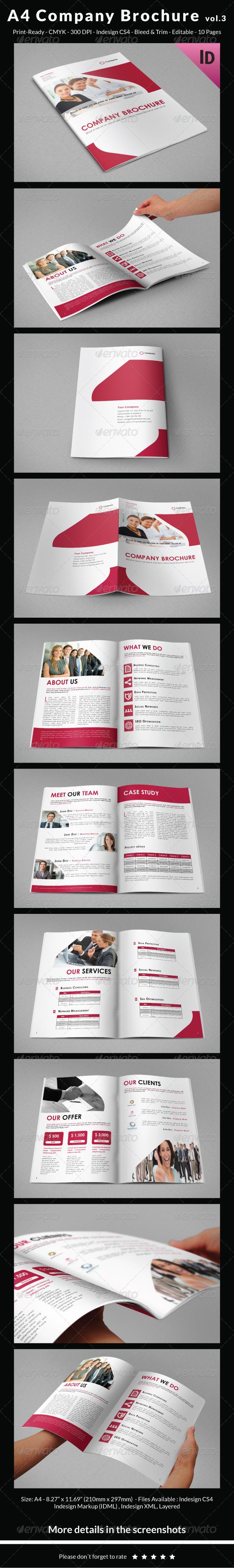 GraphicRiver A4 Company Brochure vol.3 6791145