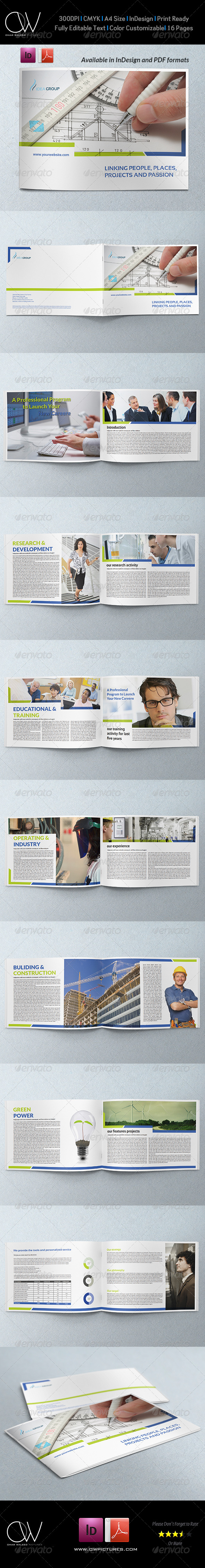 GraphicRiver Corporate Brochure Template Vol.25 16 Pages 6795014