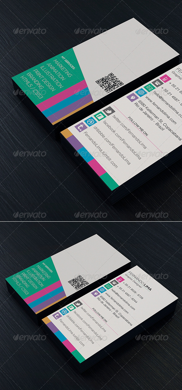 Creative Designer Business Card Vol 02