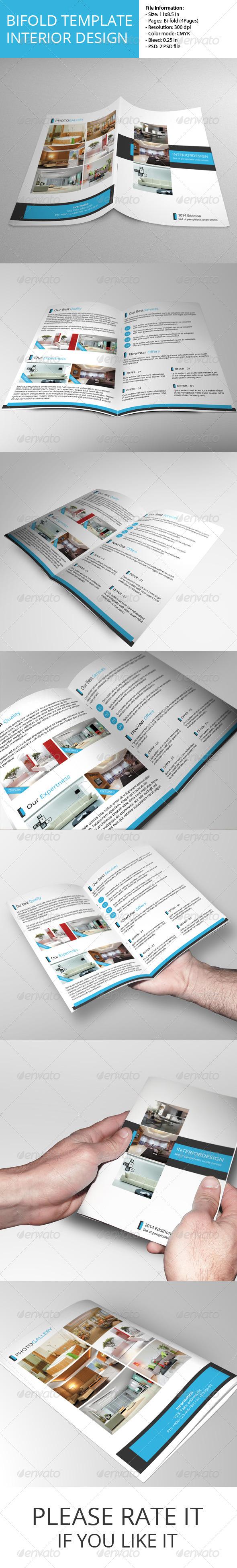 GraphicRiver Bifold Brochure-Interior Design 6795663