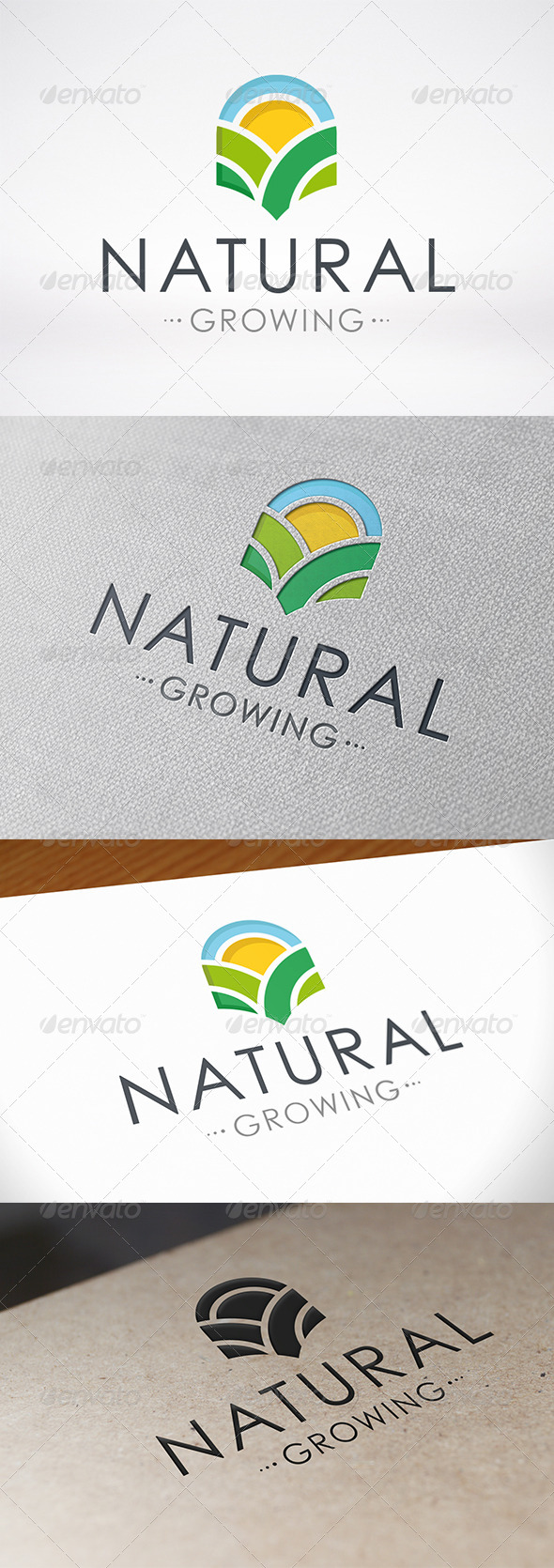 GraphicRiver Natural Growing Logo Template 6795977