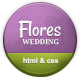 Flores - Elegant Wedding Template - Wedding Site Templates