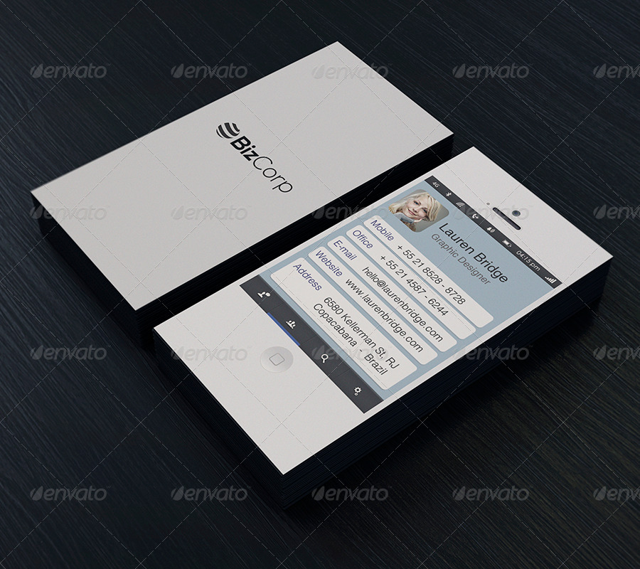 iphone business card template free download save iphone business