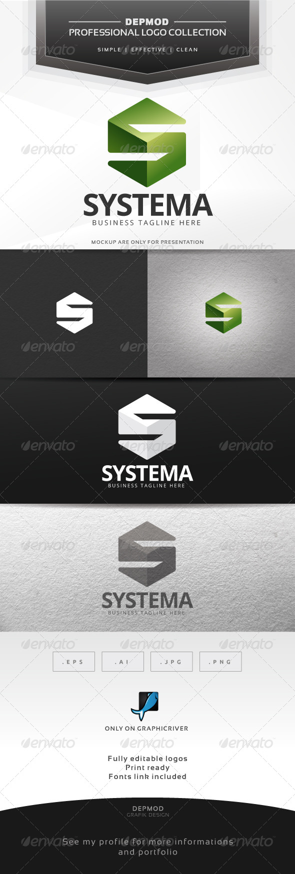 GraphicRiver Systema Logo 6796135