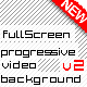 Full Screen video background template v2 - ActiveDen Item for Sale