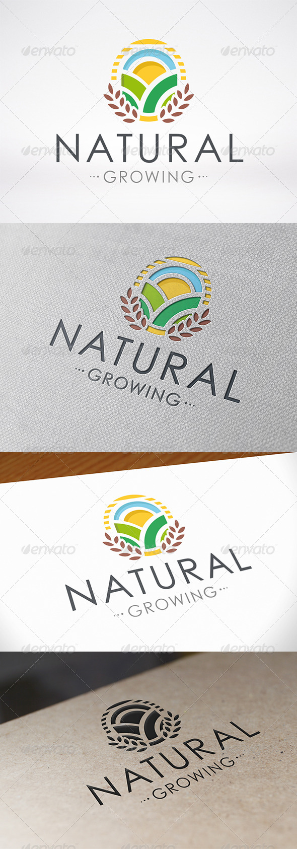 GraphicRiver Natural Growing Logo 6796316