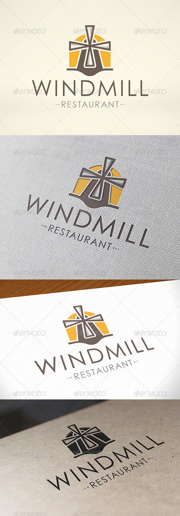 GraphicRiver Mill Logo Template 6797248