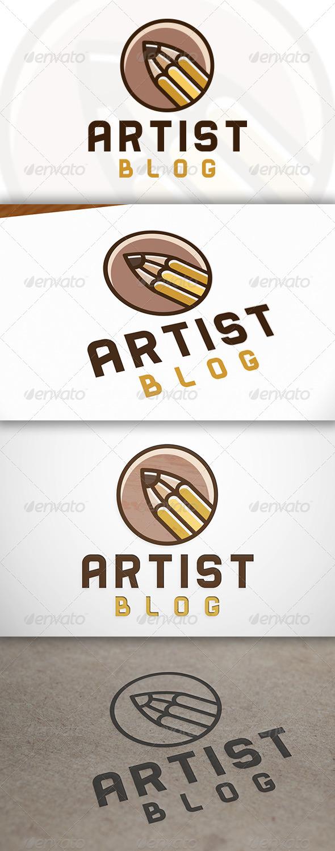GraphicRiver Pencil Logo 6797375