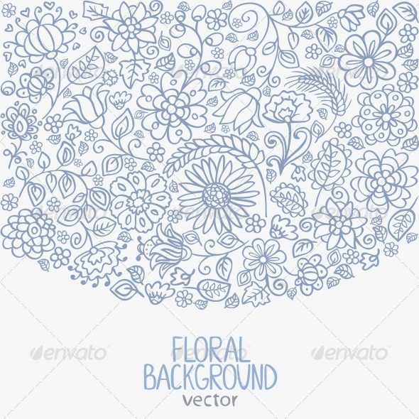 GraphicRiver Floral Background 6797592