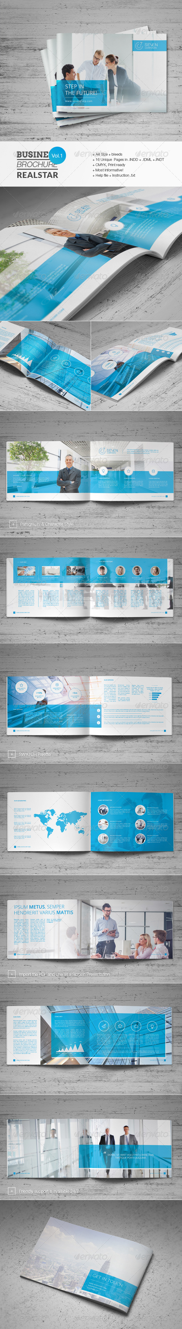 GraphicRiver Business Brochure Vol.1 6797694