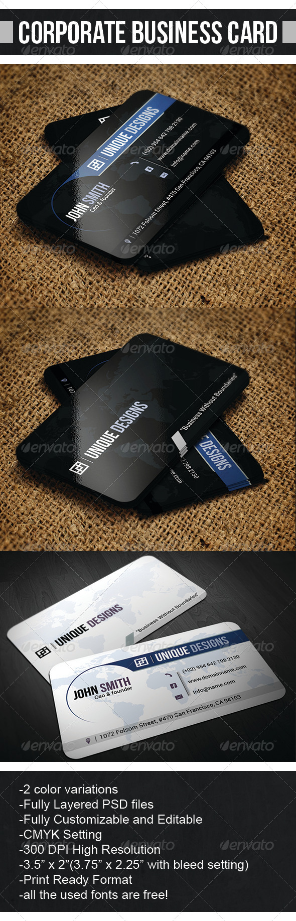 GraphicRiver Corporate business card 6797843