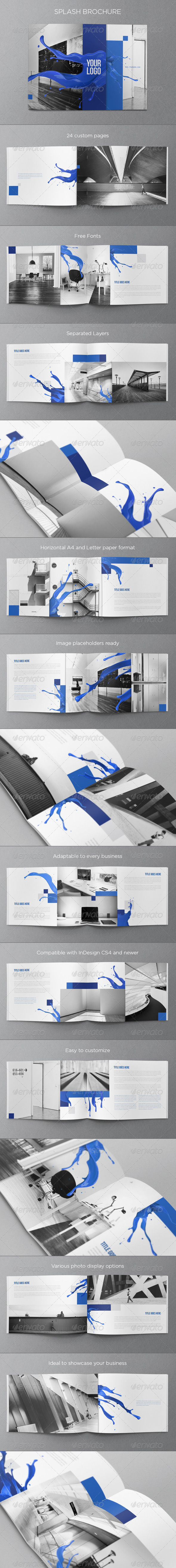GraphicRiver Splash Brochure 6797985