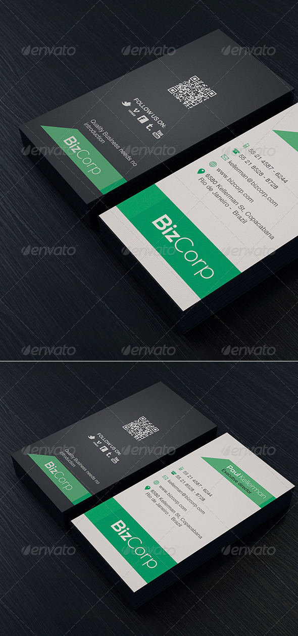 GraphicRiver Minimal Business Card Vol 2 6798267