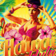Hawaii Hula Flyer Template - GraphicRiver Item for Sale