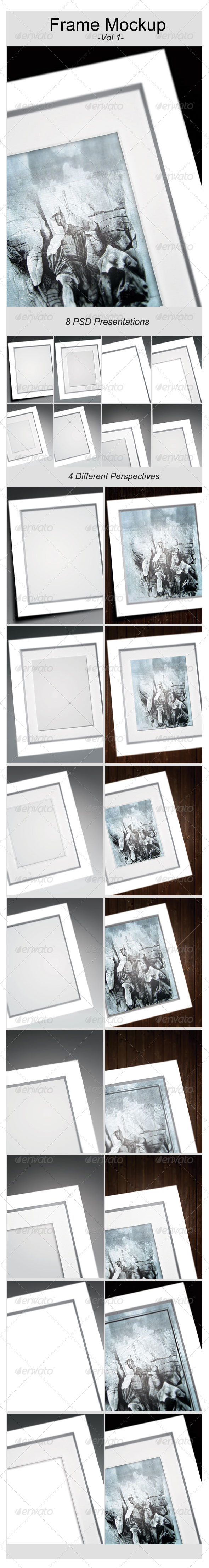 GraphicRiver Artwork Frame Mock-Up 6798385