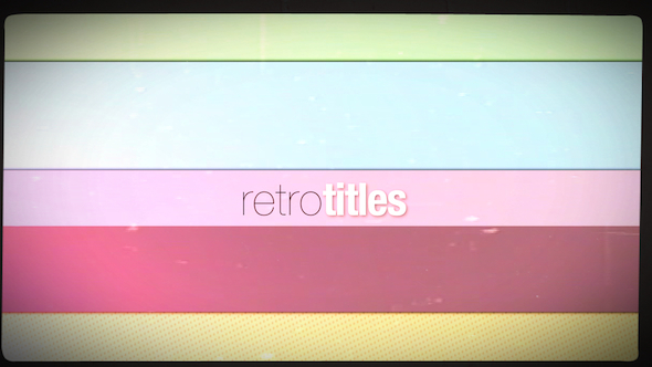 Download Retro Titles nulled download