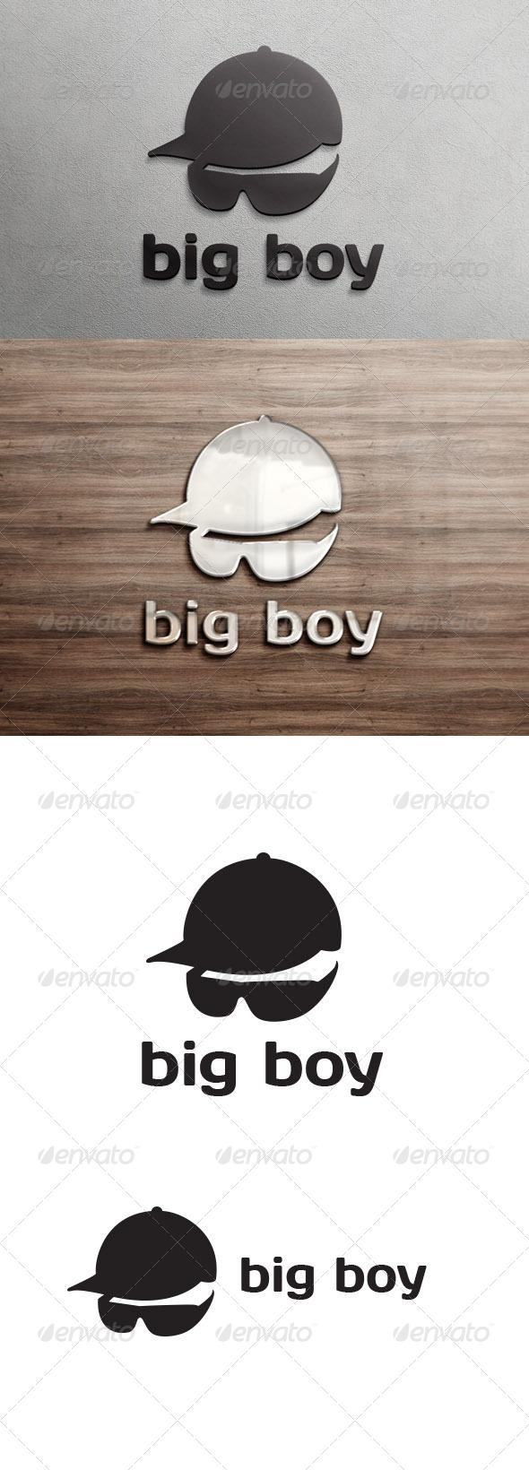 GraphicRiver Big Boy Logo Template 6798448