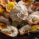 Shrimp cooked half burned - PhotoDune Item for Sale