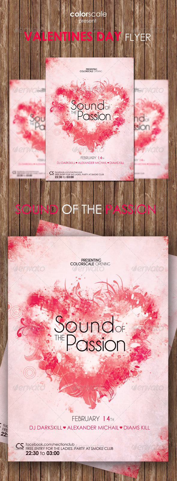 GraphicRiver Valentines Day Flyer 6799123