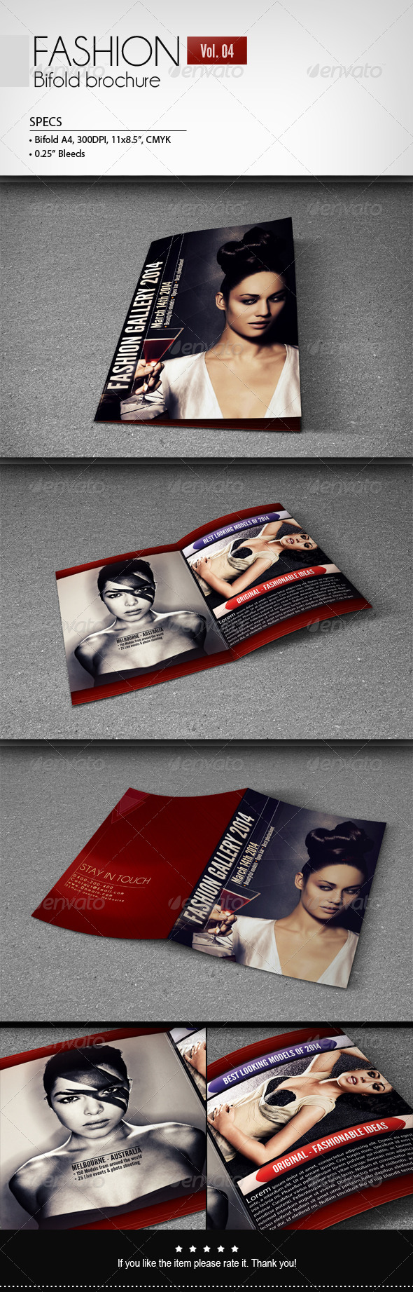 GraphicRiver Fashion Bifold Brochure [Vol.4] 6799152