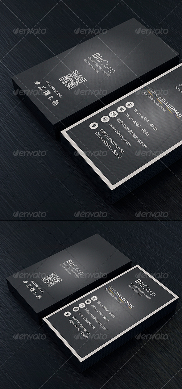 Minimal Business Card Vol. 04 - Corporate Business Cards