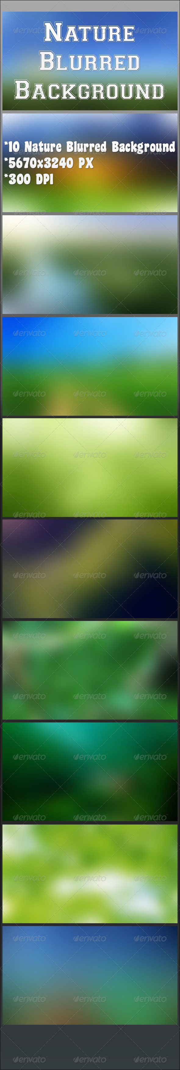 GraphicRiver Nature Blurred Background 6799503