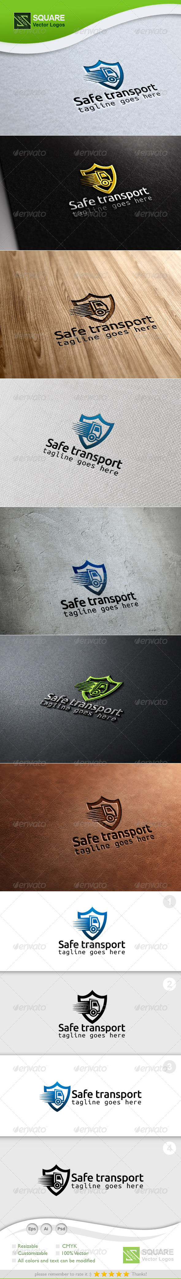 Shield, Transport Vector Logo Template - Symbols Logo Templates