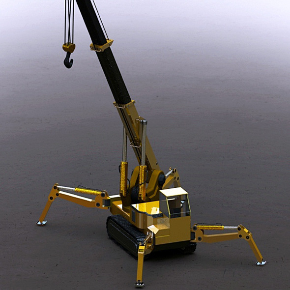 3DOcean Crane 6799687