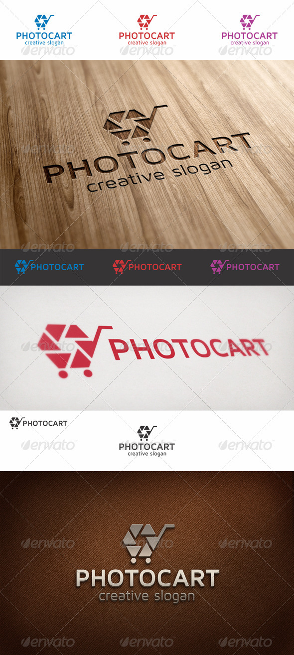 Photo Cart Logo - Objects Logo Templates
