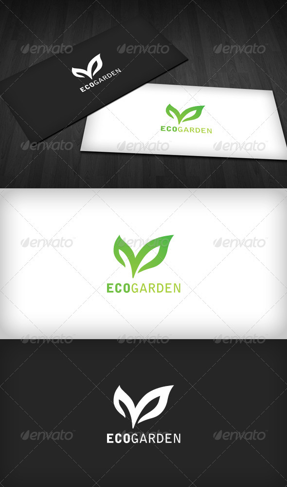 Eco Garden Logo - Nature Logo Templates