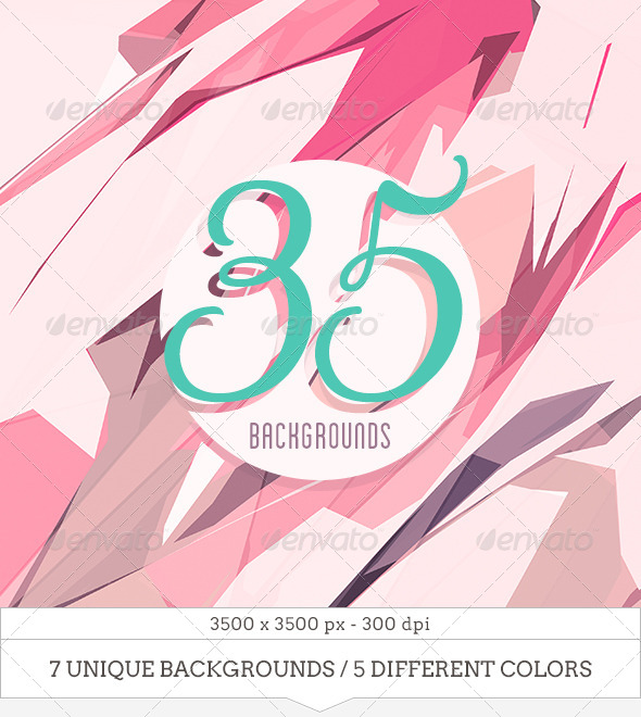 GraphicRiver 35 Colorful Abstract Backgrounds 6800079