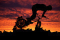 Silhouette of mountain bike - PhotoDune Item for Sale