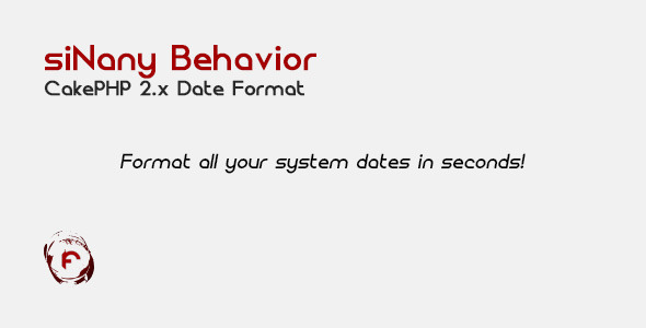 CodeCanyon siNany Behavior CakePHP 2.x Date Format 6800458