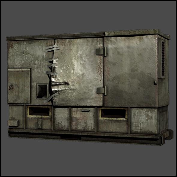 External Field Generator - 3DOcean Item for Sale