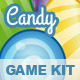 Vector Candy Puzzle Game  KIT - GraphicRiver Item for Sale