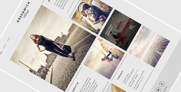 Greenwich Village – Responsive HTML5 One-Page