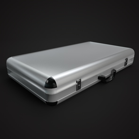 Metal Briefcase - 3DOcean Item for Sale