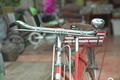 Close up in front of red bicycle - PhotoDune Item for Sale