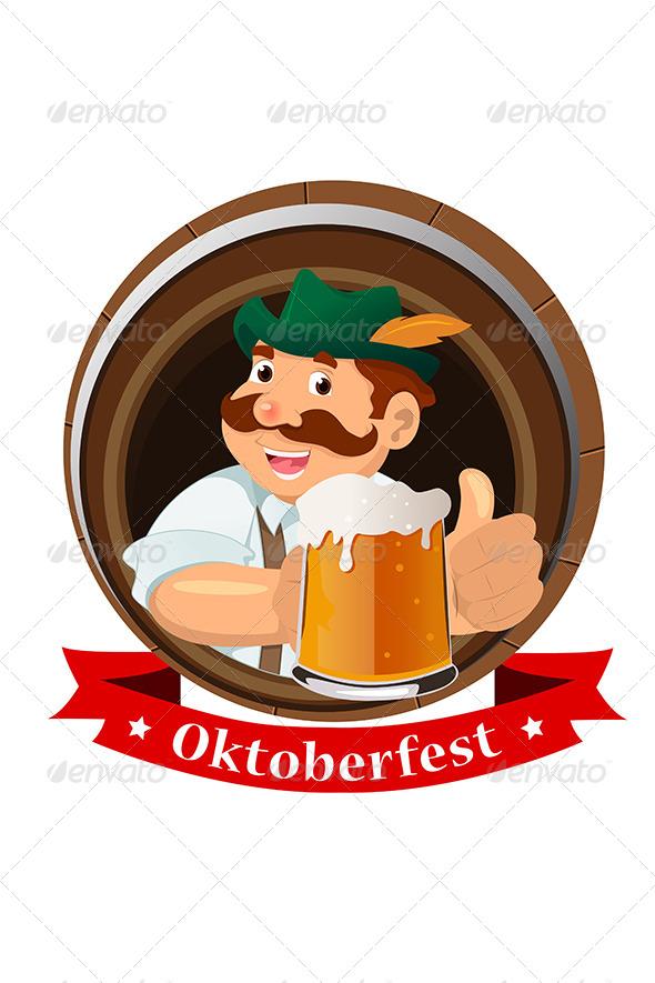 GraphicRiver Oktoberfest Concept 6801865