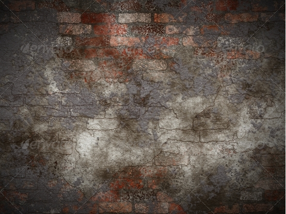 GraphicRiver Vintage brick wall 6801874