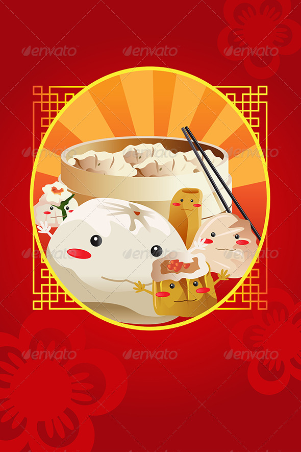 GraphicRiver Chinese Dim Sum 6801948