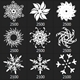Snowflakes Vol.I - 31 Brushes Set - GraphicRiver Item for Sale