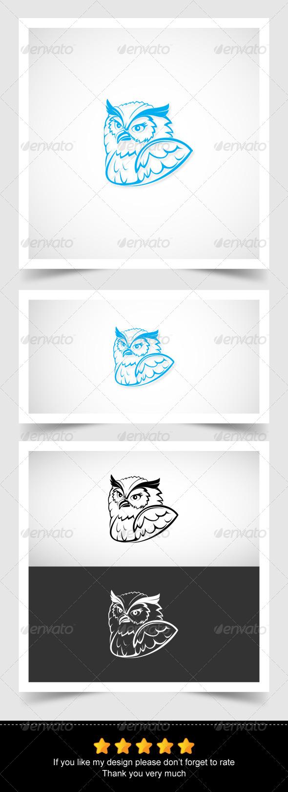 GraphicRiver Owl Head 6799118