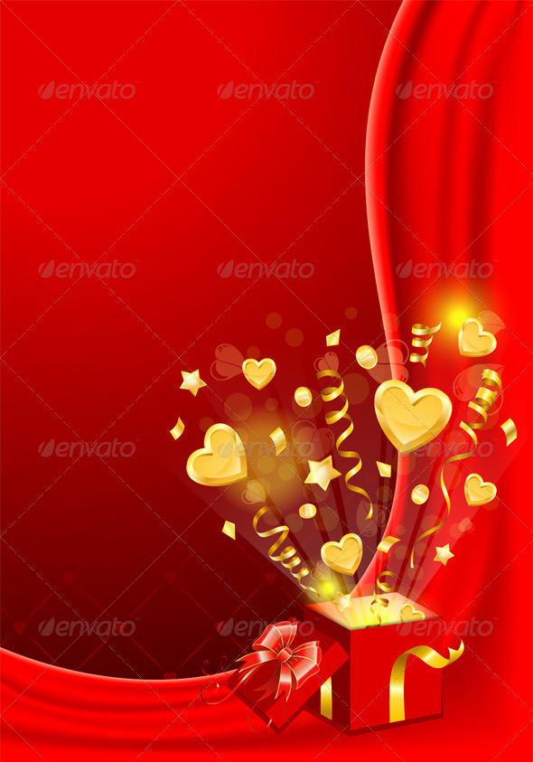 GraphicRiver Valentines Day Card 6802361
